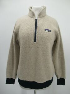 P4838 VTG Women's Patagonia Wolyester Fleece Pullover Size M