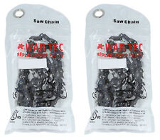 """13"""" Chainsaw Chain Pack Of 2 Fits STIHL 024 MS240 MS260 MS261 MS280 .325"""""""