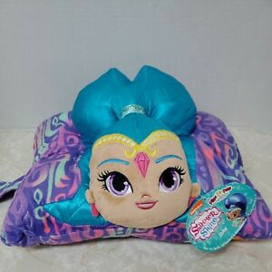 Pillow Pets Nickelodeon Shimmer & Shine Shine Stuffed Plush Toy Blue Purple