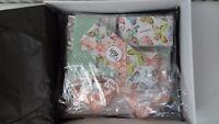 FabScraps Serenity Double Precut Quilt Kit Pastel 100% Cotton Fabric RRP £120