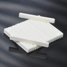 50pcs Ivory White ABS Plastic Ukulele Bridge Saddles 53mm
