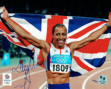 Dame Kelly HOLMES Signed Autograph Olympic Games Official Photo COA AFTAL