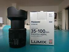 Panasonic Lumix G Vario 35-100 mm Micro 4/3 Camera Lens H-FS35100E