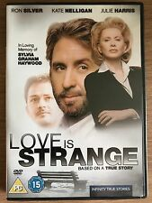 Ron Plateado, Kate Nelligan LOVE IS STRANGE ~ 1998 True Life Drama GB DVD