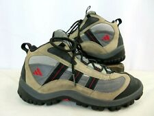ADIDAS Light Brown & Black Outdoor Adventure Hiking Shoes Men's 10