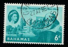 Bahamas 1964 Birth of Shakespeare  SG244 Used