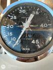 Speed Boat Speedometer Air Guide Sea Speed Vintage 4787 0-45 Mph As Is