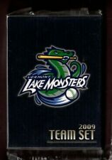 New listing 2009 VERMONT LAKE MONSTERS SEALED MINOR LEAGUE TEAM SET NM