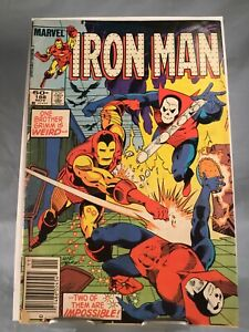 "1984 Marvel Comics Ironman Issue 188 ""read description"""