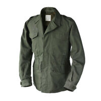 WW2 Reproduction US Army M-43 Field Jacket Vintage Men's Military Uniform M65