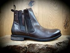 SNEAKY STEVE // Concrete // Mens Brown Chelsea Boots // REDUCED Was £160.00