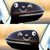 Utility Car Styling Smile Face 3D Decal Sticker for TUto Car Side Mirror TU TDO
