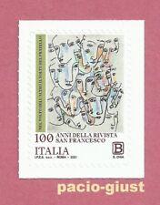 Italia 2021 100 ANNI RIVISTA SAN FRANCESCO  Francobollo singolo