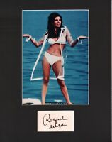 Raquel Welch Signed Autographed Cut Matted 11x14 w/COA 073019DBT2