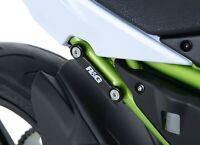 R&G Rear Foot Rest Blanking Plates fits Kawasaki Z650 2017