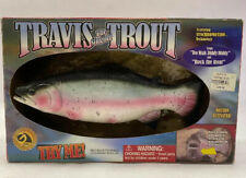 Travis The Singing Trout Motion Activated Fish Gemmy 2000 Rock The Boat