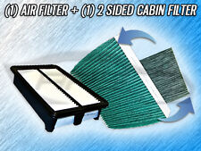 AIR FILTER HQ CABIN FILTER COMBO FOR 2013 2014 2015 ACURA ILX - 2.4L MODEL ONLY
