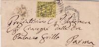 CISAPPENNINO MODENESE  lettera in RISORGIMENTO da Modena a Parma