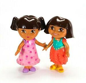 Mattel Dora The Explorer 2 Figure Lot