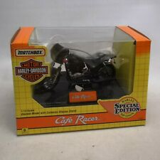 Matchbox Harley Davidson Cafe Racer 1:15 Scale Diecast Model Motorcycle Boxed