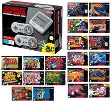 Super Nintendo Entertainment System Nintendo Classic Mini Console 21 Retro Games