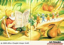PUBLICITE ADVERTISING 126  1998   Journal Figaro économie ( 2p)   offres emploi