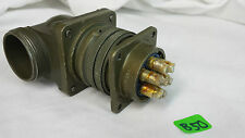 AMPHENOL MATING 7pin CONNECTOR  MS3102A24-20P MS3108A24-10S SIZE 28 LOT:B50