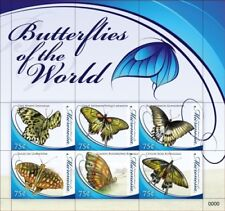 Micronesia- Butterflies of the World Stamps - sheetlet of 6 MNH