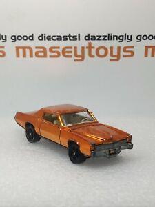 Corgi Rockets No.907 Cadillac Eldorado 1972 all metallic orange original vintage