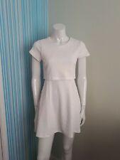 Topshop Mini Dress  8, White BNWOT cut out sides