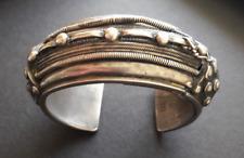 Bracelet ancien argent massif origine ethnique, vintage silver cuff, Yemen?