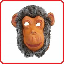 MONKEY GORILLA MASK-APE-GIBBON-ORANGUTANG-CHIMPANZEE-COSTUME-DRESS UP-PARTY