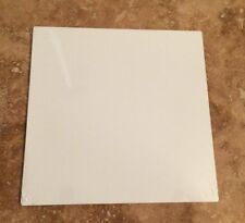 "8"" x 8"" WHITE ALUMINUM SUBLIMATION BLANKS / WITH NO HOLES"