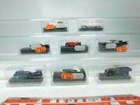 BH42-0,5# 8x Praline/Revell H0/1:87 PKW: Midget+MB+Cadillac+Chevy etc, NEUW+OVP