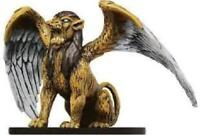 D&D Miniature -  SPHINX  #8  (Desert of Desolation Series - RARE with CARD!!)
