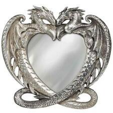 Alchemy Gothic Dragon Heart Resin Ornament Mirror