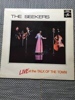 Seekers vinyl LP album record Live At The Talk Of The Town - SCX6278