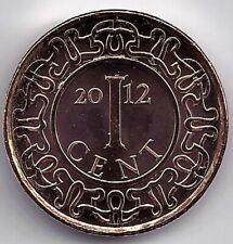 SURINAME 1 cent 2012 UNC