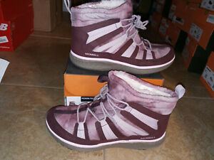 NEW $109 Womens Merrell Pechora Pull Boots, size 8.5    shoes