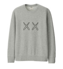 Kaws x Sesame Street X Uniqlo UT 2019 Sweatshirt Grey Medium Rare Bape Supreme