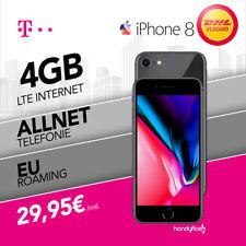 Apple iPhon 8 Handy Mit Vertrag im Telekom Netz inkl.4GB LTE nur 29,95€ mtl.