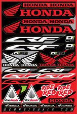 D'Cor Decal Sheet for Honda CRF 40-10-100