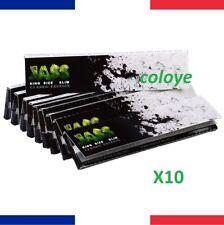 JASS Slim Classic Lots 10 Carnets de Feuilles à Rouler