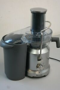 Breville BJE430SIL The Juice Fountain Cold Stainless Steel Juicer (US-30B1-S)