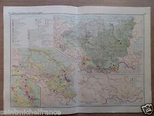 Siberia / Russian Far East / URAL USSR RUSSIA CYRILLIC ECIMONIC MAP 1955
