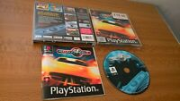 Roadsters PS1 Racing Game - rare Playstation 1 game complete with manual - PAL