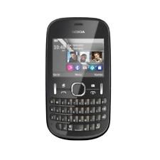 Original Nokia Asha 200 2MP Dual SIM QWERTY Keyboard Cellphone 2G GSM 900 1800