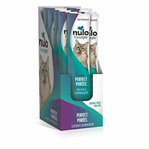 Nulo Freestyle Perfect Purees - Chicken & Salmon Recipe - Grain Free Cat Food...