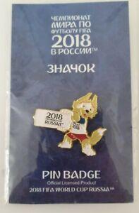 2018 Russland WM Offizielle Emaille Pin/  Abzeichen, Zabivaka