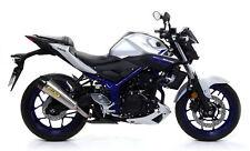 Terminale Street Thunder alluminio Arrow Yamaha MT-03 2016>2017